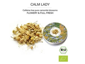 Yeh Tea Calm Lady- Blikje 15 gram NL-BIO-01