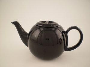 Bredemeijer Cosy Theepot Zwart 0,5L, aparte keramiek pot