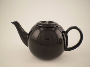 Bredemeijer Cosy Theepot Zwart 0,9L, aparte keramiek pot