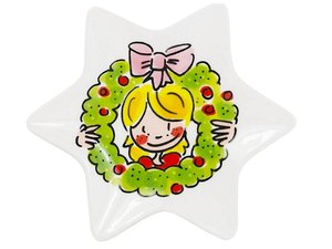 Blond Amsterdam Christmas Petit Four Star Girl