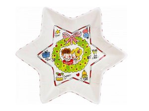 Blond Amsterdam Christmas Star Bowl 32 cm