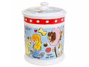Blond Amsterdam Animals Storage Jar Dog
