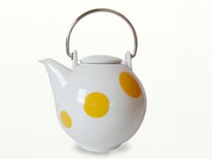 Eslau Bornholm geel, 2,6 liter theepot