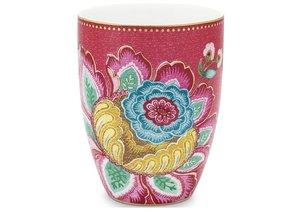 Pip Studio Drinkbeker Jambo Flower Roze