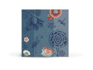 Pip Studio Papieren Servetten Spring to Life Blauw