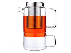 Solo Salerno Glas Tea for one