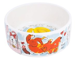 Blond Amsterdam Animals Dog Bowl 15,5 cm