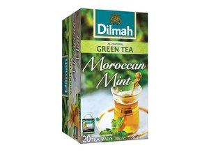 Dilmah Groene Thee Marokkaanse Munt 20 Theezakjes (30 gram)