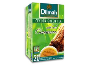 Dilmah Groene Thee Kaneel 20 Theezakjes (40 gram)