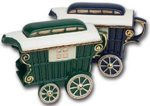 Romany Caravan Theepot voor een kop