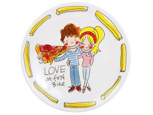 Blond Amsterdam Plat Bord Snack Love 22 CM