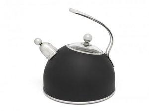 Bredemeijer Fluitketel Mat Zwart 2,5 liter