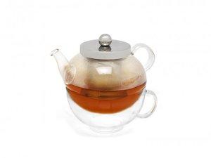 Solo Modena Glas Tea for one