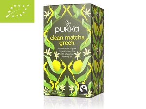 Pukka Clean Matcha Green 20 tea sachets BIO GB-ORG-05 (30 gram)