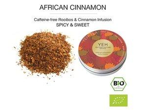 Yeh Tea African kaneel - Blikje 35 gram NL-BIO-01