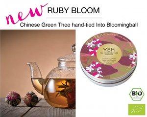 Yeh Tea Ruby Blooms - Blikje met 7 ballen (50 gram)