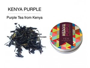 Yeh Tea Kenya Purple - Blikje 35 gram NL-BIO-01
