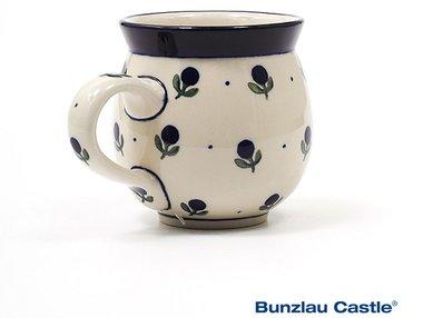 Bunzlau Farmers Mug 300 ml Blue Berry