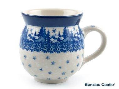 Bunzlau Farmers Mug 240 ml Christmas Landscape