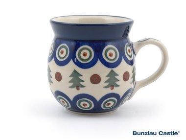 Bunzlau Farmers Mug 240 ml Christmas Tree Green