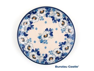 Bunzlau Plate 16 cm Lady