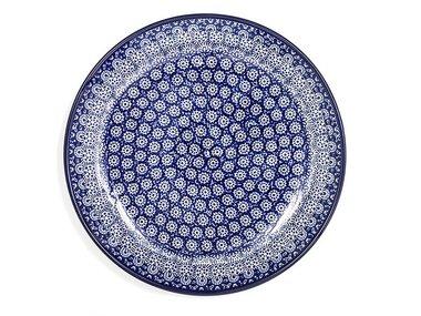 Bunzlau Lace Plate 20 cm