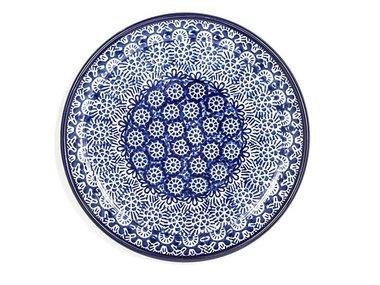 Bunzlau Lace Plate 16 cm