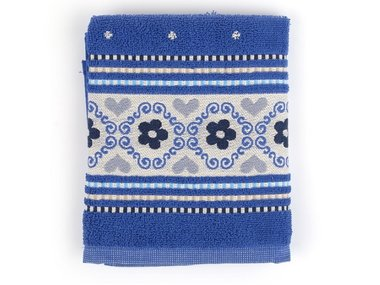 Bunzlau Keuken Handdoek Royal Blue