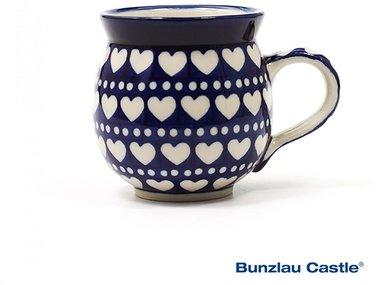 Bunzlau Farmers Mug 240 ml Blue Valentine
