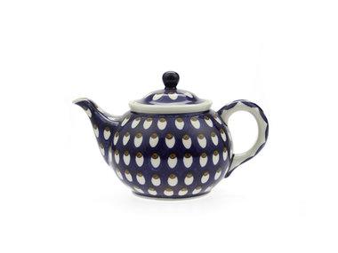 Bunzlau Teapot 1,2 liter Peacock Eyes