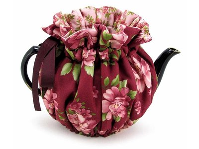 Thistledown Theemuts Burgundy Rose 4 kops