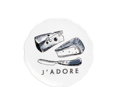 BLond X Noir Bord 15 cm J'Adore