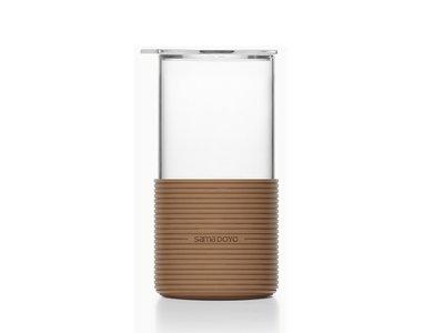 Samadoyo Heet - Koud glas bruin 450 ML