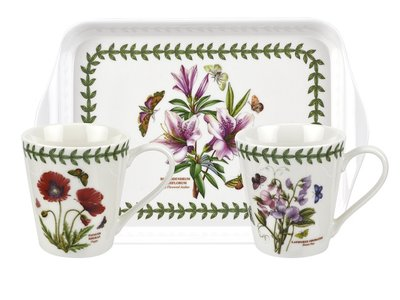 Portmeirion - Botanic Garden Beker en Dienblad set
