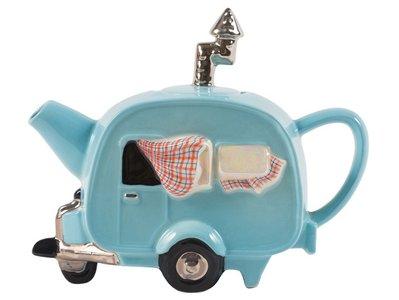 Caravan Blauwe Theepot