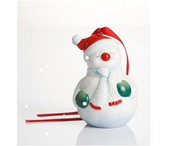 Franz Holiday Greetings Snowman Ornament