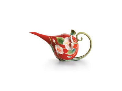 Franz Hibiscus teapot (small)