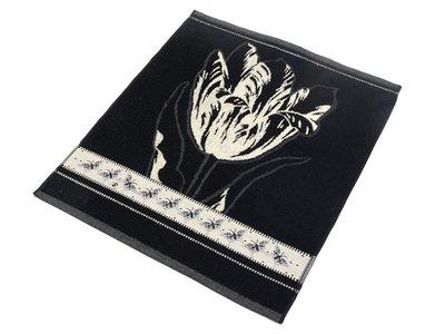Bunzlau Keuken Handdoek Tulip Black
