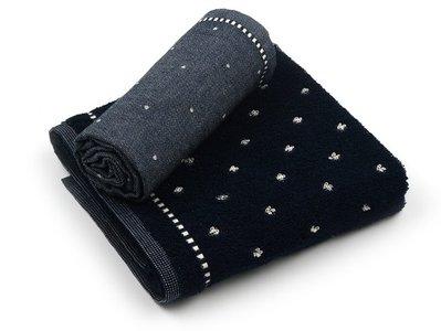 Bunzlau Keuken Handdoek Basic Dark Blue