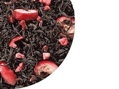 Zwarte thee Cranberry 100 Gram