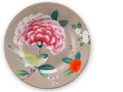 Pip Studio Petit Four Bord Blushing Birds Khaki
