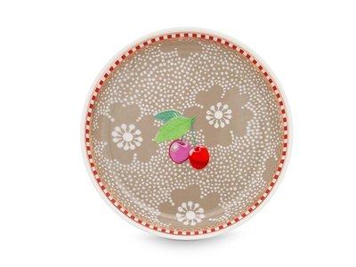 Pip Studio Theezakjeshouder Dotted Flower Khaki