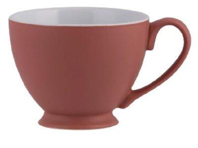 PLINT Theekop 350 ml Terracotta