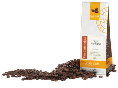 Café Cult Espresso Siciliano, 250 gram koffiebonen