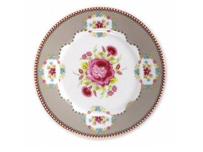 Early Bird Cake Plate Khaki