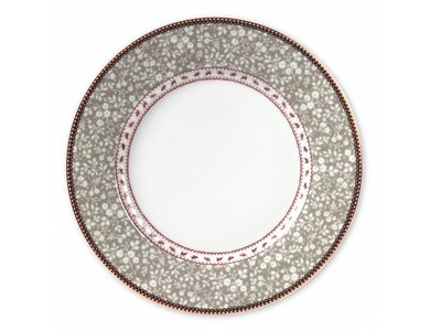 Early Bird Khaki Dinner Plate
