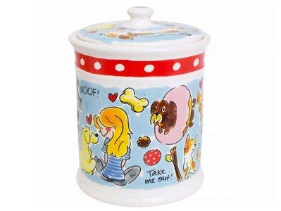 Storage Jar Dog