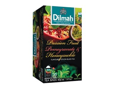 Dilmah Passionfr. Honeysuckle Pomegranate Tea