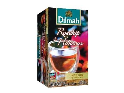 Dilmah Rosehip & Hibiscus Tea