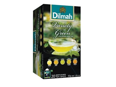 Dilmah Green Variety Pack Tea
